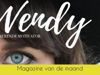 Magazine van de Maand september: Wendy