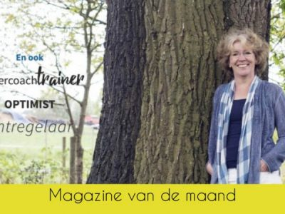 Magazine van de Maand september: Christa