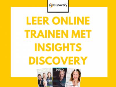 Leer online trainen met Insights Discovery. Juist nu!