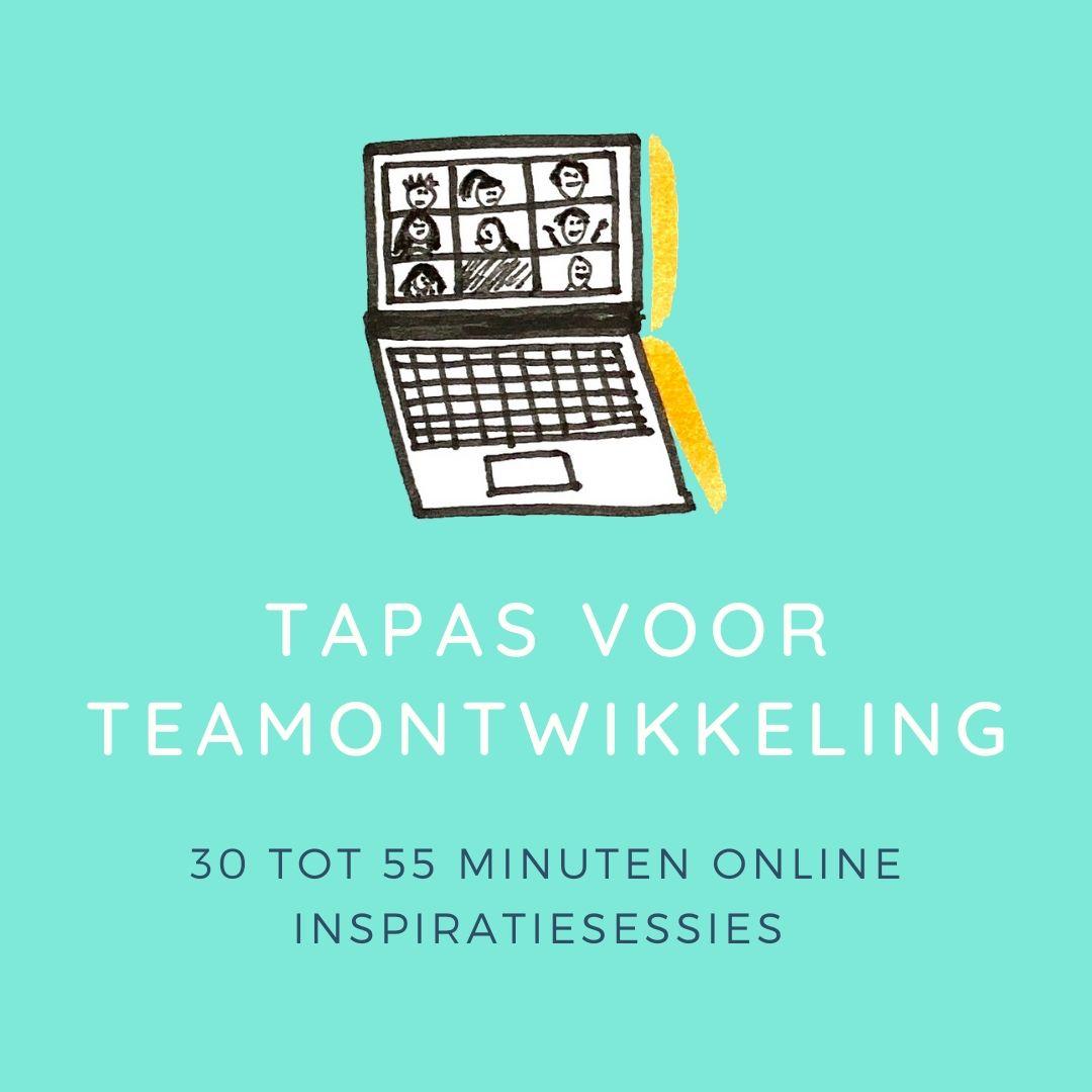 Virtuele tapas voor teamontwikkeling